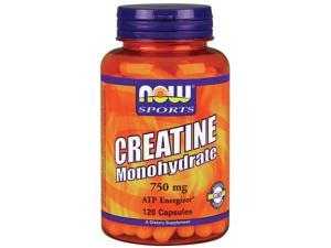 Creatine 750mg - Now Foods - 120 - Capsule