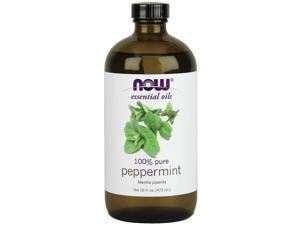 Peppermint Oil - Now Foods - 16 oz - Liquid