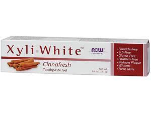 Xyliwhite Cinnafresh Toothpaste - Now Foods - 6.4 oz-Paste
