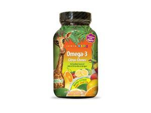 Irwin Kids Omega-3 Citrus  (formerly Bright Brain) - Irwin Naturals - 30 - Chewable