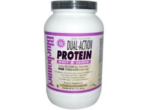 Dual Action Protein Vanilla - Bluebonnet - 2 lbs - Powder