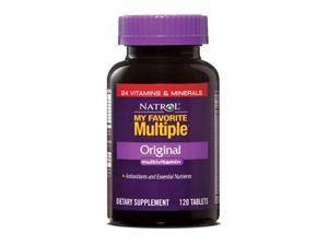 My Favorite Multiple - Original - Natrol - 120 - Tablet