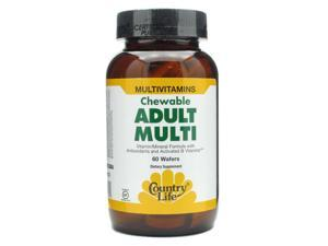 Adult's Multi Vitamin & Mineral-Pineapple Orange - Country Life - 60 - Chewable