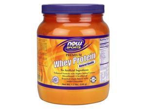 Whey Protein Vanilla - Now Foods - 1.2 lbs - Powder