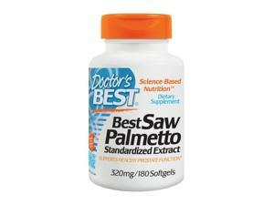 Best Saw Palmetto 320 - Doctors Best - 180 - Softgel