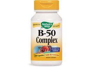 B-50 Complex - Nature's Way - 100 - Capsule