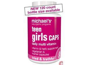 Teen Girls Daily Multivitamin - Michael's Naturopathic - 60 - Capsule