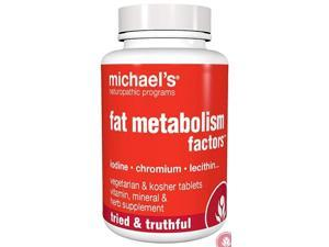 Fat Metabolism Factors - Michael's Naturopathic - 180 - Tablet