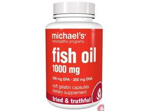 Fish Oil- 1000 mg - Michael's Naturopathic - 60 - Softgel