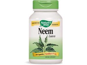 Neem - Nature's Way - 100 - Capsule
