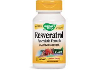 Resveratrol - Nature's Way - 60 - VegCap