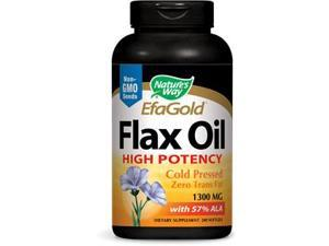 Flax Oil 1300 mg - Nature's Way - 200 - Softgel
