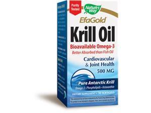 Krill Oil  500 mg - Nature's Way - 30 - Softgel