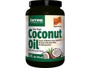Coconut Oil - Extra Virgin Organic - Jarrow Formulas - 32 oz - Oil