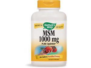 MSM 1000mg - Nature's Way - 200 - Tablet