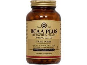 BCAA Plus - Solgar - 100 - VegCap