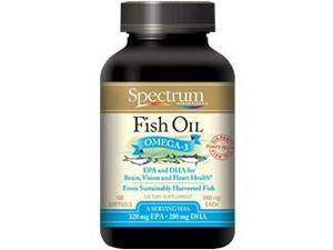 Norwegian Fish Oil 1000mg - Spectrum Essentials - 100 - Capsule