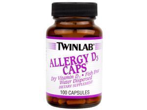 Allergy D 400 IU - Twinlab, Inc - 100 - Capsule