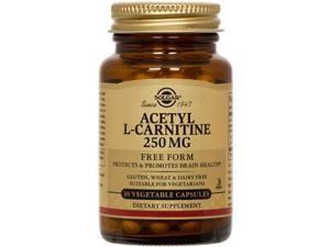 Acetyl L-Carnitine 250mg - Solgar - 30 - VegCap