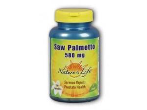 Saw Palmetto 500mg - Nature's Life - 100 - Capsule
