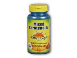 Mixed Carotenoids 10,000 IU Beta Carotene - Nature's Life - 250 - Softgel