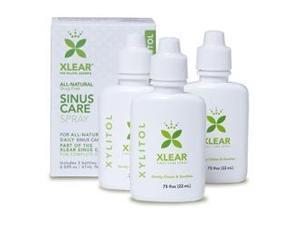 Nasal Wash - Xlear - .75 oz bx 3 - Liquid