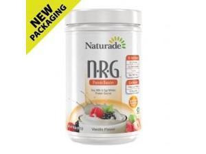 NRG Protein Powder Fat Free-Vanilla - Naturade Products - 16 oz - Powder