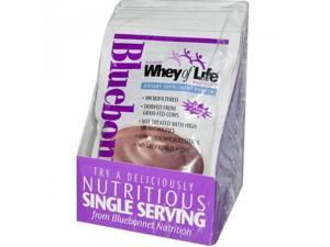 Whey of Life Protein Powder Natural Chocolate Blitz - Bluebonnet - 8 - Packet