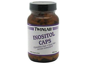 Inositol 500mg - Twinlab, Inc - 100 - Capsule