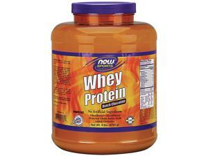 Whey Protein-Chocolate - Now Foods - 6 lbs - Powder