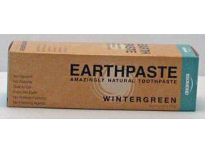 Earthpaste Natural Toothpaste - Wintergreen - Redmond Clay - 4 oz - Paste