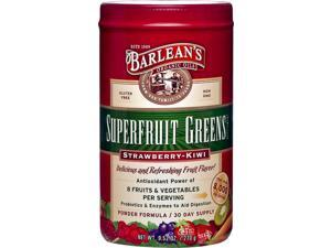 Superfruit Greens - Strawberry Kiwi - Barlean's - 9.52 oz - Powder