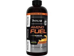 Amino Fuel Liquid Orange - Twinlab, Inc - 16 oz - Liquid