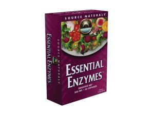 Essential Enzymes 500 mg Blister Pack - Source Naturals, Inc. - 30 - Capsule