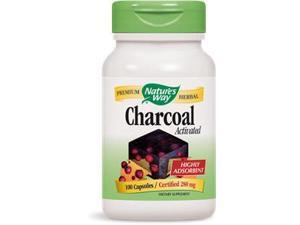 Activated Charcoal - Nature's Way - 100 - Capsule