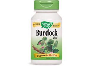 Burdock Root - Nature's Way - 100 - Capsule