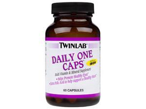Daily One Without Iron - Twinlab, Inc - 180 - Capsule