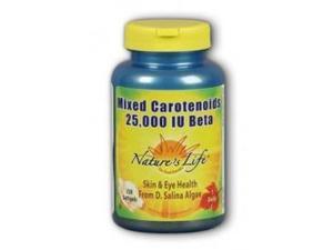 Mixed Carotenoids 25,000 IU Beta Carotene - Nature's Life - 100 - Softgel