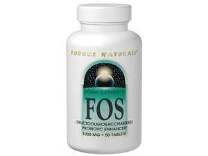 FOS Probiotics Enhancer 1000mg - Source Naturals, Inc. - 200 - Tablet