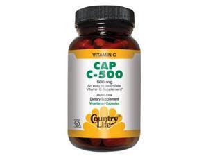 Vitamin C 500mg - Country Life - 180 - VegCap