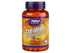 Creatine 750mg - Now Foods - 120 - Capsule