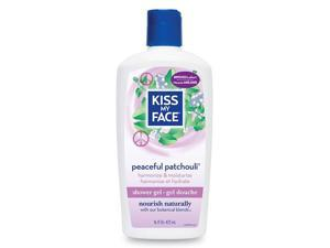 Shower and Bath Gel-Peaceful Patchouli - Kiss My Face - 16 oz - Liquid
