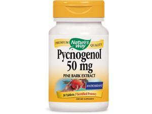 Pycnogenol 50mg - Nature's Way - 30 - Tablet