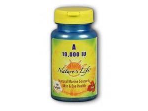 Vitamin A 10,000 IU - Nature's Life - 100 - Softgel