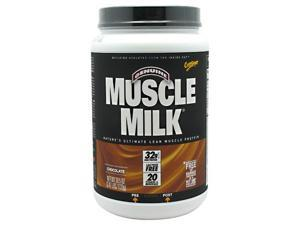 Muscle Milk Chocolate - 2.47 lbs (39.5 oz / 1120 Grams) by CytoSport