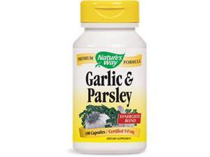 Garlic Parsley - Nature's Way - 100 - Capsule
