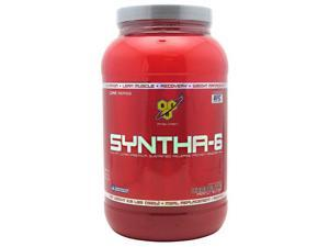Syntha-6 Protein Powder Sustained Release-Peanut Butter Chocolate - BSN - 2.91 lb (1320 g) - Powder