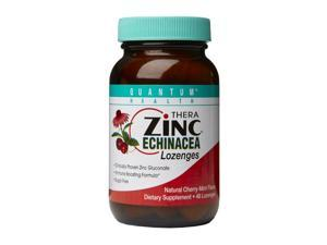 Zinc Echinacea Lozenges-Cherry - Quantum - 48 - Lozenge