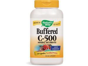 Buffered C 500mg - Nature's Way - 250 - Capsule