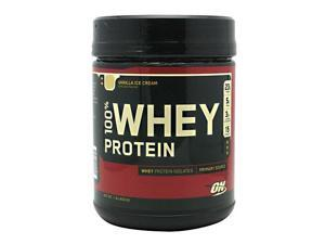100% Whey Protein - Vanilla - Optimum Nutrition - 1 lbs - Powder